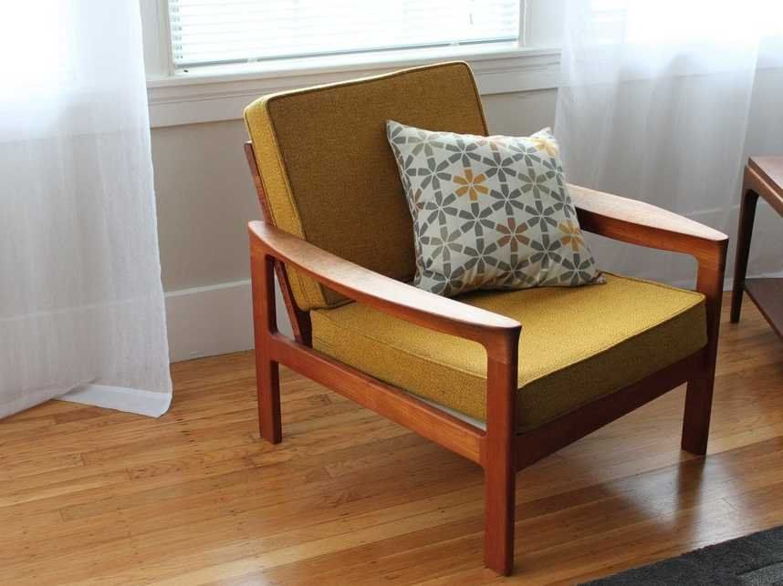 mustard-chair